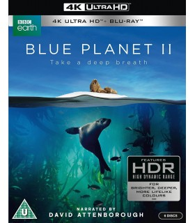 Blue Planet II (2017) (3 4K UHD + 3 Blu-ray) 17.1.