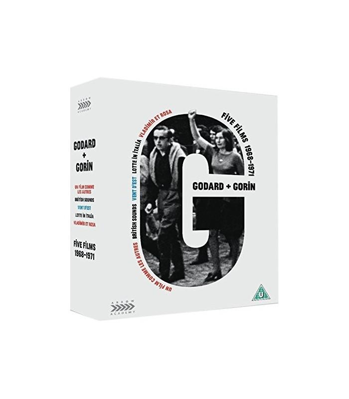 Jean-Luc Godard & Jean-Pierre Gorin: Five Films (1968-1971) (3 Blu-ray + DVD) 20.9.