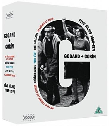 Jean-Luc Godard & Jean-Pierre Gorin: Five Films (1968-1971) (3 Blu-ray + DVD)