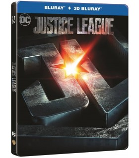 More about Justice League (2017) Steelbook (3D + 2D Blu-ray)