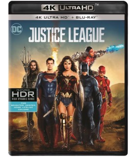 Justice League (2017) (4K UHD + Blu-ray) 19.3.