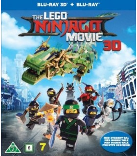 The LEGO Ninjago Movie (2017) (3D + 2D Blu-ray)