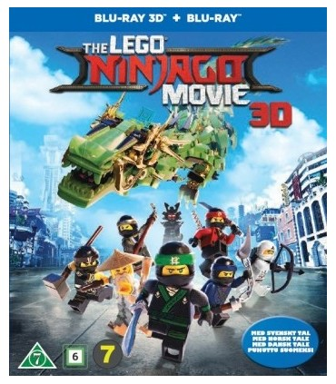 The LEGO Ninjago Movie (2017) (3D + 2D Blu-ray)