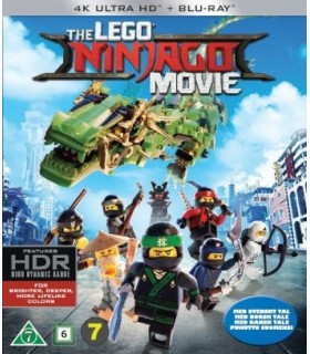 The LEGO Ninjago Movie (2017) (4K UHD + Blu-ray)