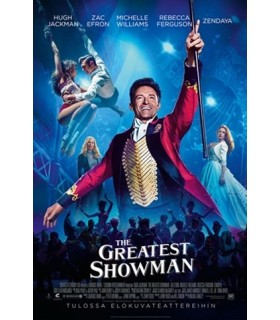 The Greatest Showman (2017) DVD 14.5.