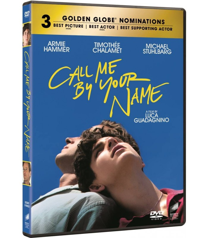 Call Me by Your Name (2017) DVD 6.4.