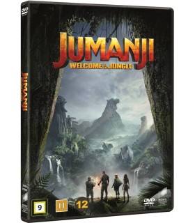 Jumanji: Welcome to the Jungle (2017) DVD 28.5.