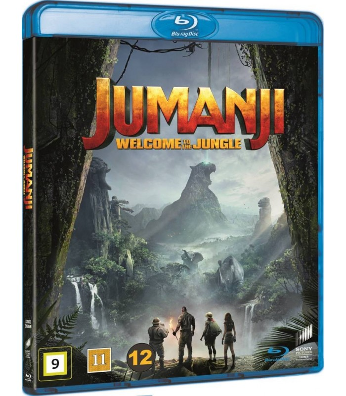Jumanji: Welcome to the Jungle (2017) Blu-ray 28.5.