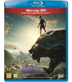 Black Panther (2018) (2D + 3D Blu-ray) - Kesä