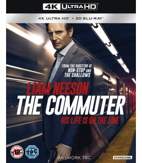 The Commuter (2018) (4K UHD + Blu-ray) 23.5.