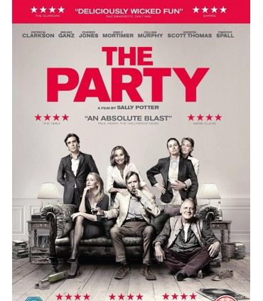 The Party (2017) DVD