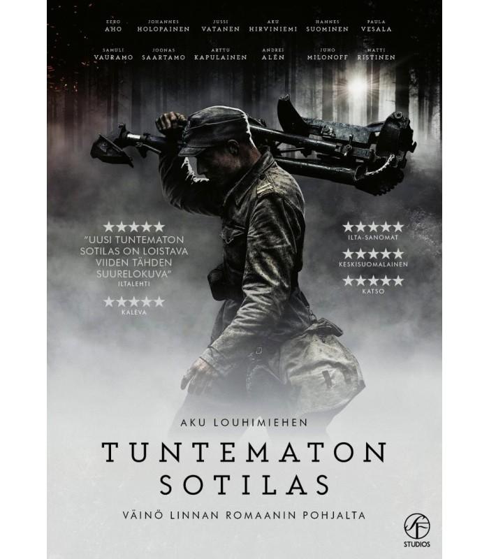 Tuntematon sotilas (2017) DVD - Kevät 2018