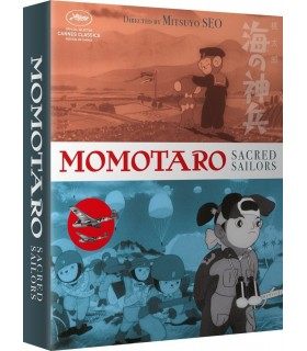 Momotaro Sacred Sailors (1945) Collectors Edition (Blu-ray + DVD) 28.3.