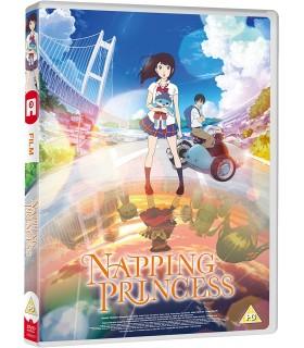 Napping Princess (2017) DVD 19.3.