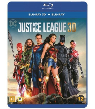 Justice League (2017) (3D + 2D Blu-ray)