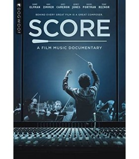 Score: A Film Music Documentary (2016) DVD 4.4.