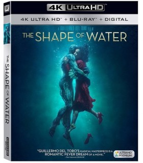 The Shape of Water (2017) USA (4K UHD + Blu-ray) 15.3.