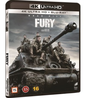 More about Fury (2014) (4K UHD + Blu-ray)