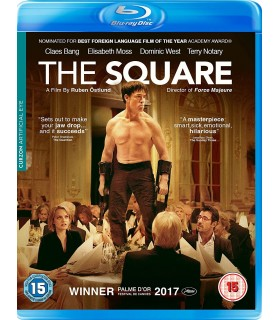 The Square (2017) Blu-ray 16.5.