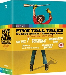 More about Five Tall Tales: Budd Boetticher & Randolph Scott At Columbia (1957-1960) (5 Blu-ray)