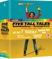 Five Tall Tales: Budd Boetticher & Randolph Scott At Columbia, 1957-1960 BLU-RAY 21.5.
