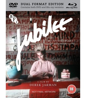 Jubilee (1978) 40th Anniversary Edition (Blu-ray + DVD) 20.6.