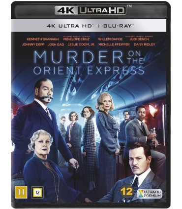Murder on the Orient Express (2017) (4K UHD + Blu-ray)