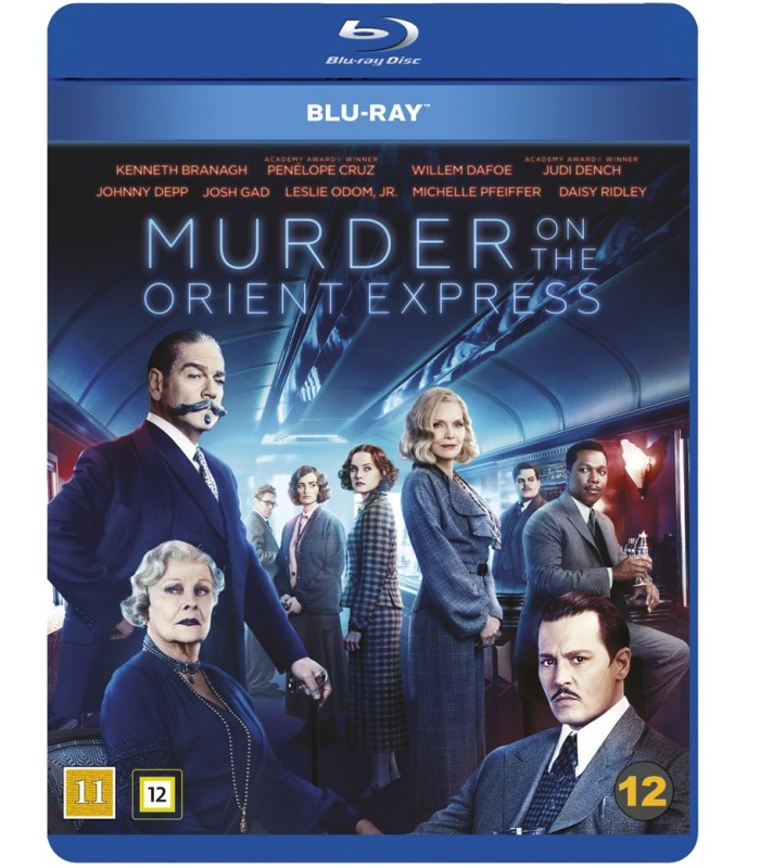 Murder on the Orient Express (2017) Blu-ray 9.4.