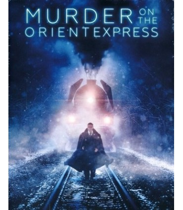 Murder on the Orient Express (2017) Steelbook (Blu-ray)