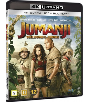 Jumanji: Welcome to the Jungle (2017) (4K UHD + Blu-ray)