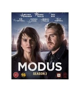Modus - Kausi 2. (2 Blu-ray) 9.4.