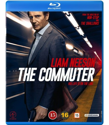 The Commuter (2018) Blu-ray