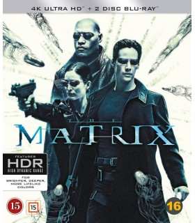 The Matrix (1999) (2 4K UHD + Blu-ray) 28.5.