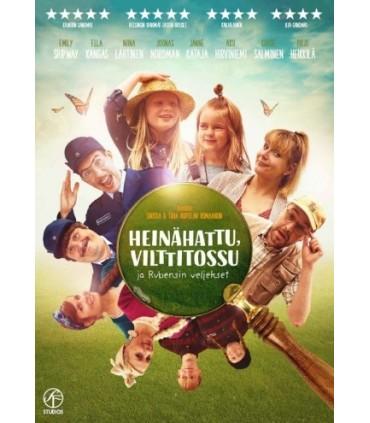 Heinähattu, Vilttitossu ja Rubensin veljekset (2017) DVD
