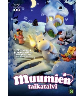 Muumien taikatalvi (2017) DVD 21.3.
