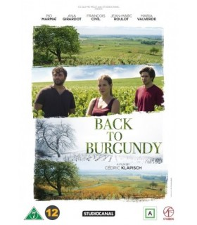 Back to Burgundy (2017) DVD 26.2.