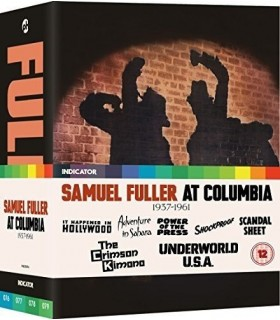 Sam Fuller at Columbia (1937-1961) Limited Edition (4 Blu-ray) 20.6.