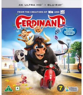 Ferdinand (2017) (4K UHD + Blu-ray) 7.5.