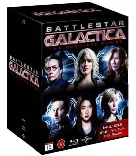 Battlestar Galactica (2004–2009) (22 Blu-ray)