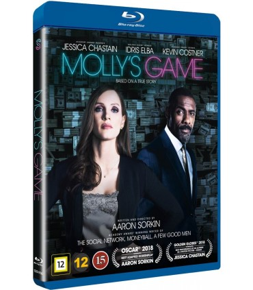 Molly's Game (2017) Blu-ray