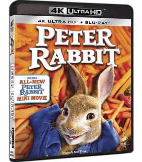 Peter Rabbit (2018) (4K UHD + Blu-ray) 20.8.
