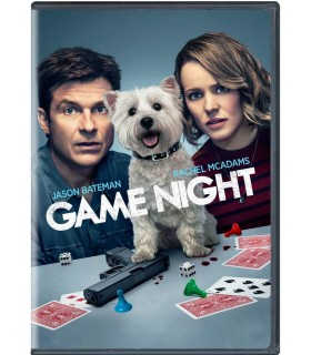 Game Night (2018) DVD 9.7.