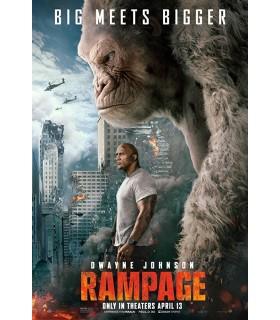Rampage (2018) DVD 20.8.
