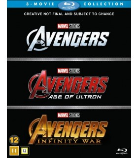 Avengers - 1-3 Collection (2012 - 2018) (3 Blu-ray) - Q4