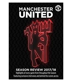 Manchester United Season Review 2017/18 DVD 18.6.