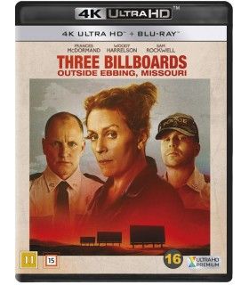 Three Billboards Outside Ebbing, Missouri (2017) (4K UHD + Blu-ray)