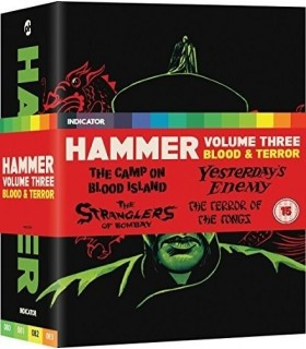 Hammer Volume Three: Blood And Terror - Limited Edition (4 Blu-ray) 25.7.