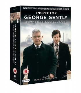 Inspector George Gently - Series 1 to 8 Complete Collection (17 DVD)