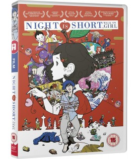 Night is Short Walk On Girl (2017) DVD 27.6.