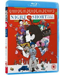 Night is Short Walk On Girl (2017) Blu-ray 27.6.